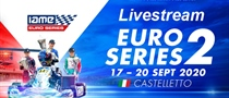 Saturday Livestream: Round 2 of the IAME Euro Series at  Castelletto