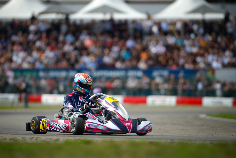 4000 Spectators In Genk Hajek Crowned As World Champion In Kz1