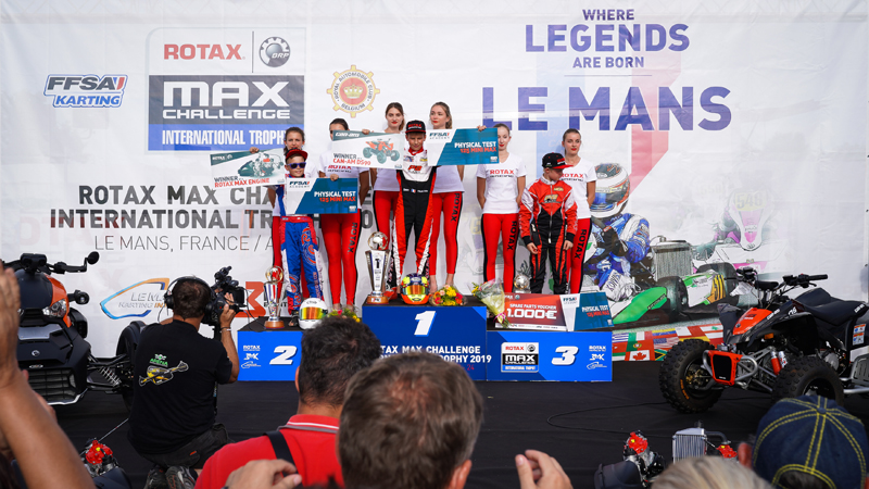 Rotax Max Challenge International Trophy an exceptional